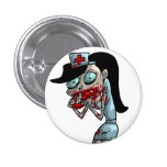 Vampire Nurse Pinback Buttons