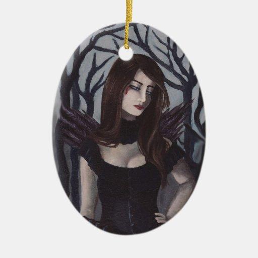 Vampire Ornament Gothic Art Ornament