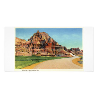 Vampire Peak, Cedar Pass, Badlands, South Dakota Personalized Photo Card