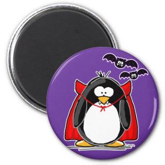 Vampire Penguin Refrigerator Magnet