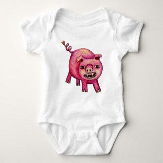 Vampire Pig Baby Bodysuit