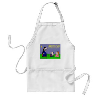 VAMPIRE PLAY WITH WOODEN STAKES ADULT APRON