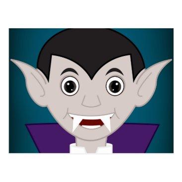Halloween Themed Vampire Postcard