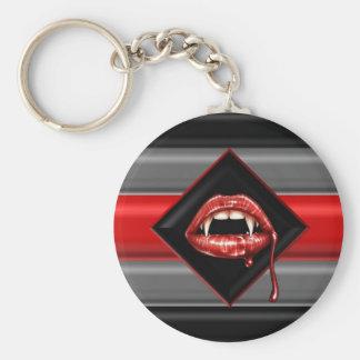 Vampire Pride Flag Keychains