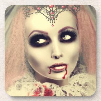 Vampire Princess Beverage Coaster