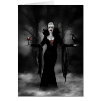 Vampire Queen Greeting Cards