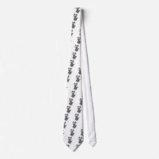 Vampire Raccoon Neck Tie