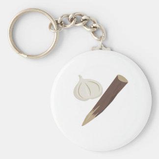 Vampire Repellant Basic Round Button Keychain