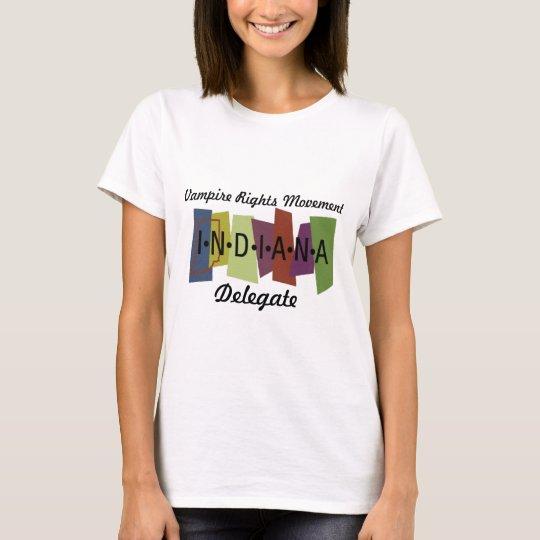 Vampire Rights Movement - Indiana T-Shirt