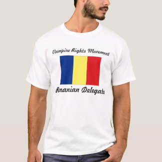 Vampire Rights Movement - Romanian Delegate T-Shirt