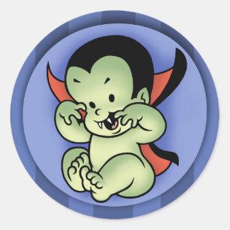 Vampire Rising Classic Round Sticker
