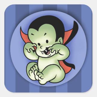 Vampire Rising Square Sticker
