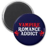 Vampire Romance Addict Fridge Magnet