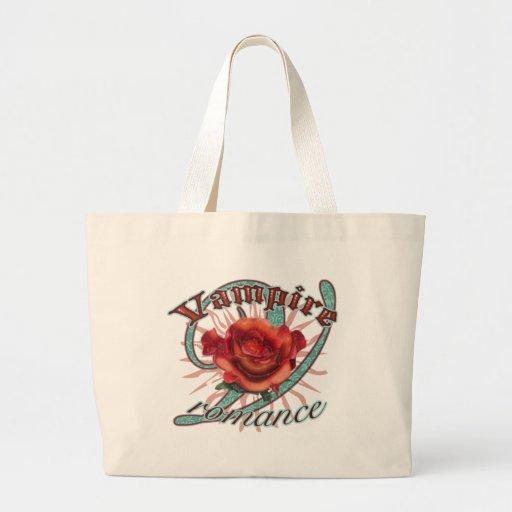 Vampire Romance Jumbo Tote Bag