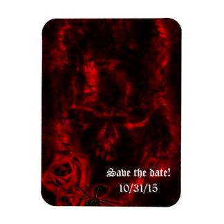 Vampire Roses Goth Wedding Magnet