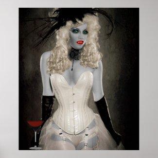 Vampire - Sexy Poster print