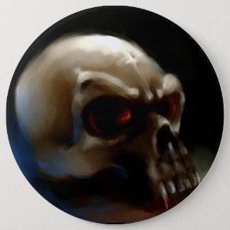 Vampire Skull Button