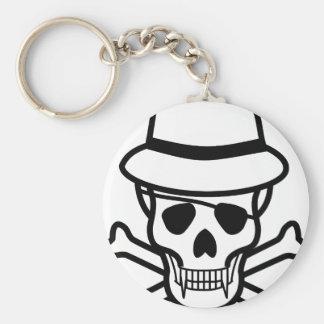 Vampire skull keychain