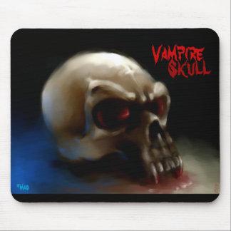 Vampire Skull Mouse Pad