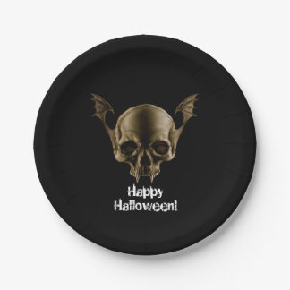 Vampire Skull Party Paper Plates 7 Inch Paper Plate