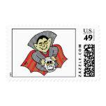 Vampire & Skull Postage