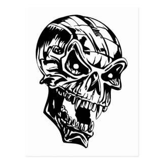 Vampire Skull Postcard