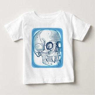 VAMPIRE SKULL PRINT IN BRIGHT BLUE BABY T-Shirt