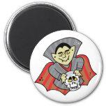 Vampire & Skull Refrigerator Magnets