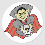 Vampire & Skull Stickers