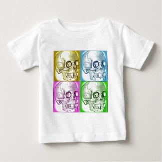 VAMPIRE SKULLS COLLAGE NEON PRINT BABY T-Shirt