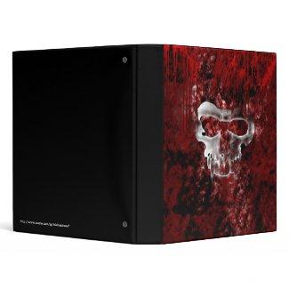 Vampire Skulls Gothic Grunge Binder binder