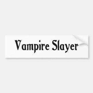 Vampire Slayer Bumper Sticker