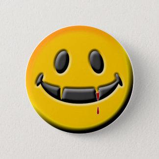VAMPIRE SMILEY button