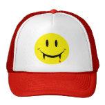 Vampire Smiley Face Trucker Hat