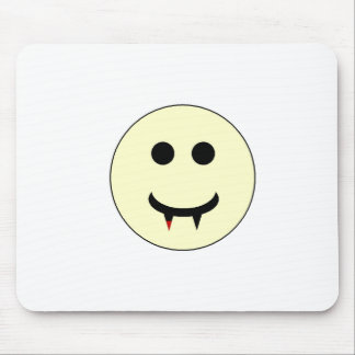 Vampire Smiley Mouse Pad