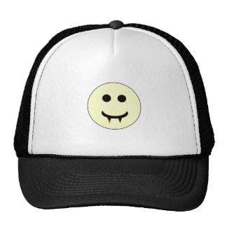 Vampire Smiley Trucker Hat