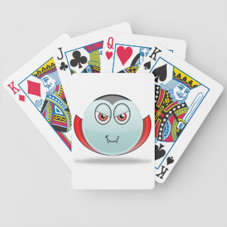 Vampire Smilie Playing Cards Bicycle Playing Cards