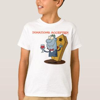 Vampire Sponsored Halloween Blood Drive T-Shirt