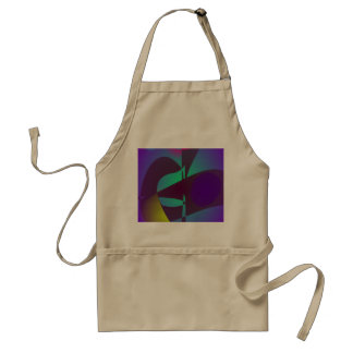 Vampire Squid Abstract Art Adult Apron
