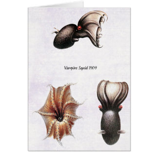 Vampire Squid Card
