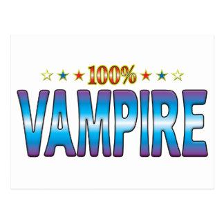 Vampire Star Tag v2 Post Cards