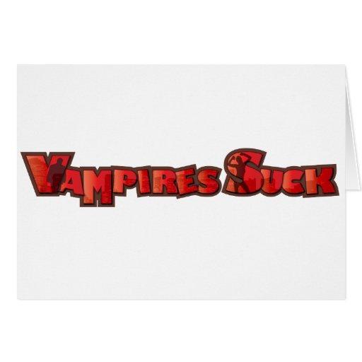 Vampire Suck Card