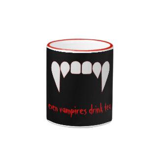 Vampire Tea Ringer Mug