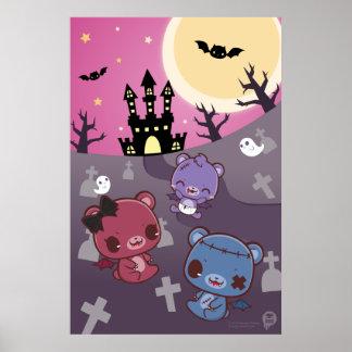 Vampire Teddies Print