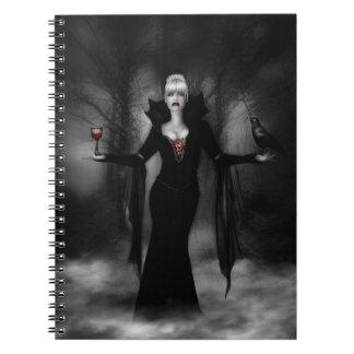 Vampire Thirst Custom Notebook