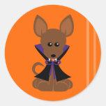 Vampire Tiny Dog Sticker