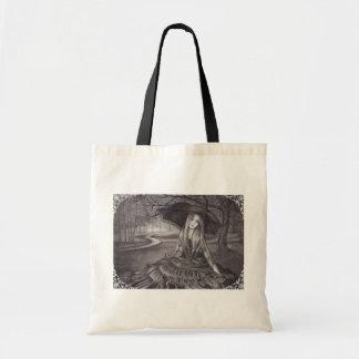 Vampire Tote Bag Gothic Art Tote Bag
