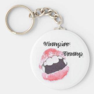 Vampire                Tramp Basic Round Button Keychain