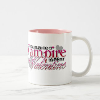 _vampire Two-Tone coffee mug