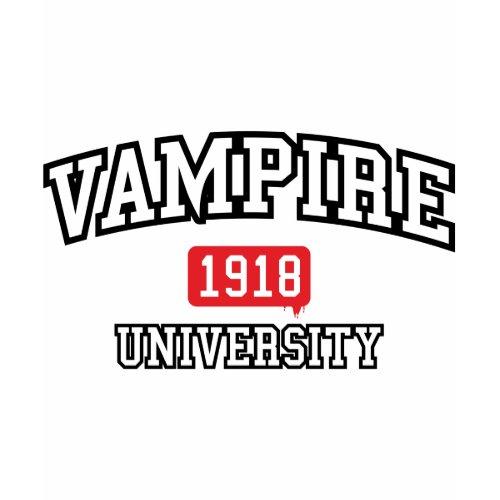 Vampire University shirt